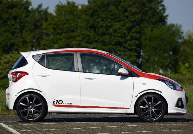 Hyundai добавил спорта городскому хэтчу i10