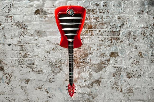 Alfa Romeo переключается на гитары