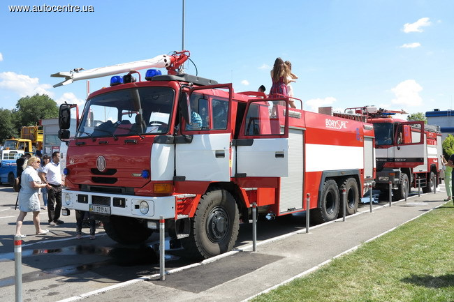 Смотр техники в аэропорту «Борисполь»