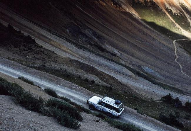 Land Rover собирается в большой поход