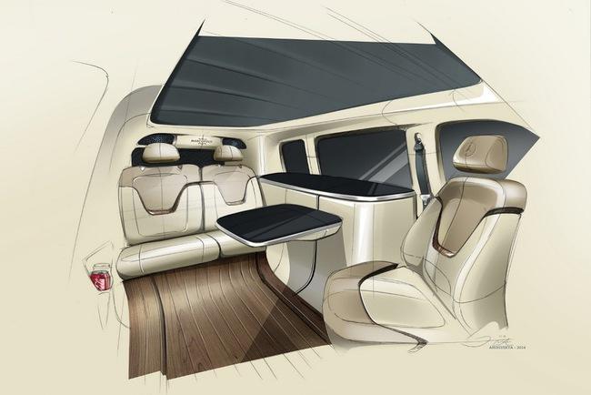 Mercedes превратил новый V-Class в дом на колесах