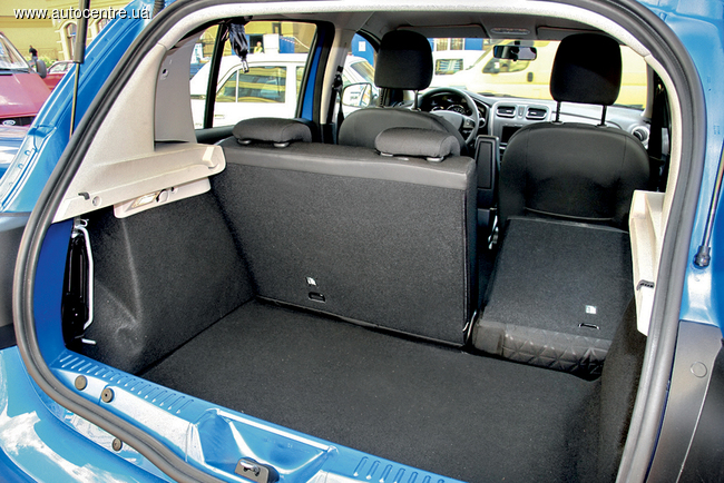 Тест-драйв Renault Sandero Stepway