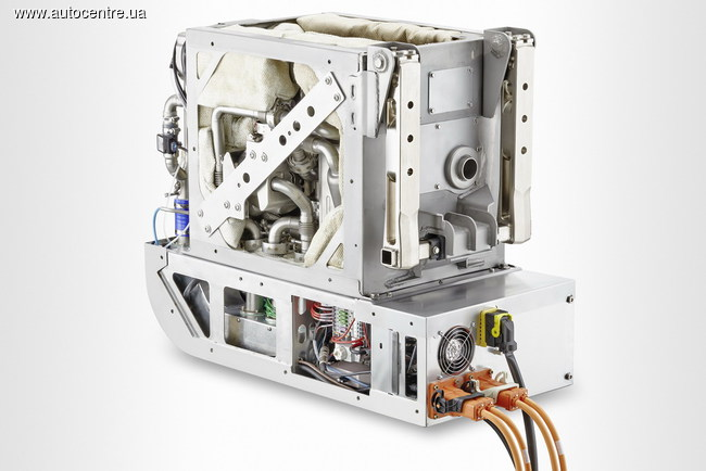 система зарядки Diesel fuell-cell APU