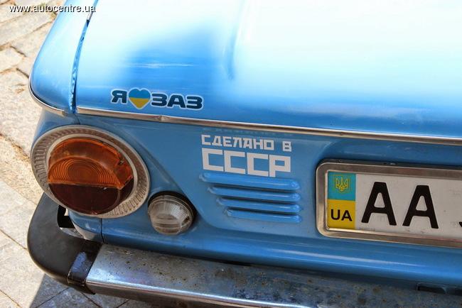 «Мегаслет» клуба любителей автомобилей ЗАЗ