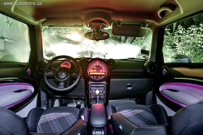 Тест-драйв MINI Cooper S Paceman