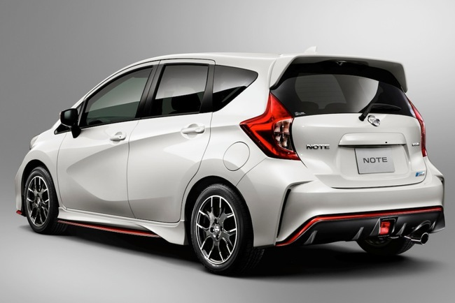 Nissan Note приблизился к спорту версией Nismo