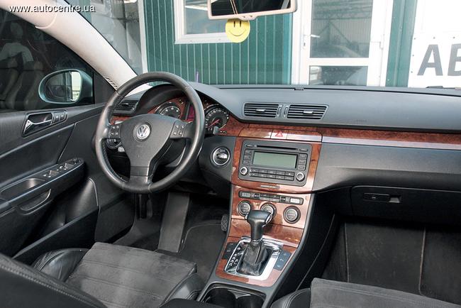 Сравнительный тест Ford Mondeo - VW Passat (В6)