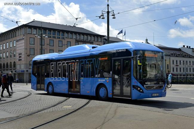 автобусы Volvo