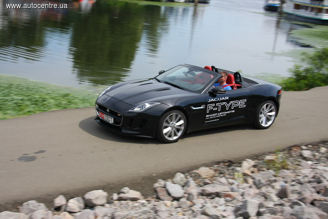 Тест-драйв Jaguar F-Type S Convertible