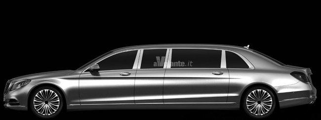 Появились первые фото Mercedes за 1,2 млн долларов