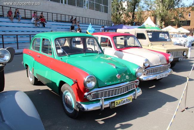 Old Car Fest 2014 прошел в Киеве