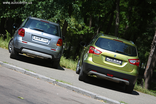Народный тест-драйв Suzuki SX4 Classic и New SX