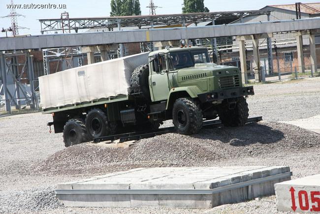 Военные автомобили КрАЗ