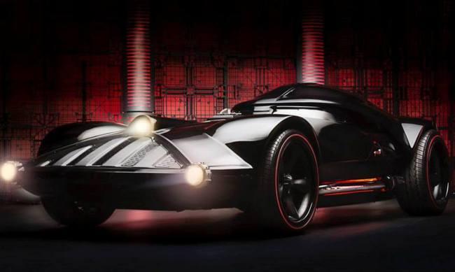 Hot Wheels создала машину Дарта Вейдера