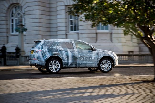 Land Rover хвастается испытаниями нового внедорожника