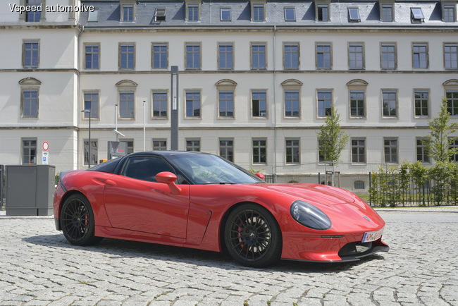 Новый споркар Vspeed V77 Gran Turismo разгоняется до 320 км/ч