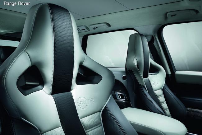 Range Rover Sport SVR показали в Калифорнии