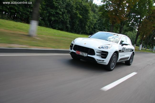 Тест-драйв Porsche Macan Turbo