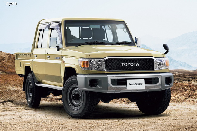 Легендарный внедорожник Toyota Land Cruiser 70 возрождается