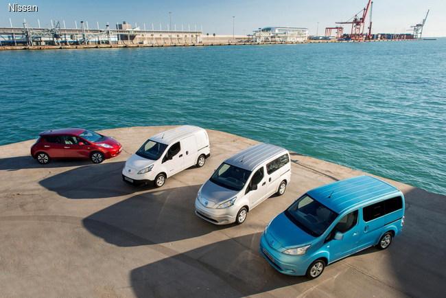 Электромобили Nissan