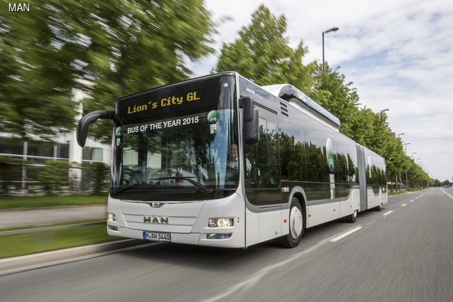 автобус MAN Lion's City GL CNG
