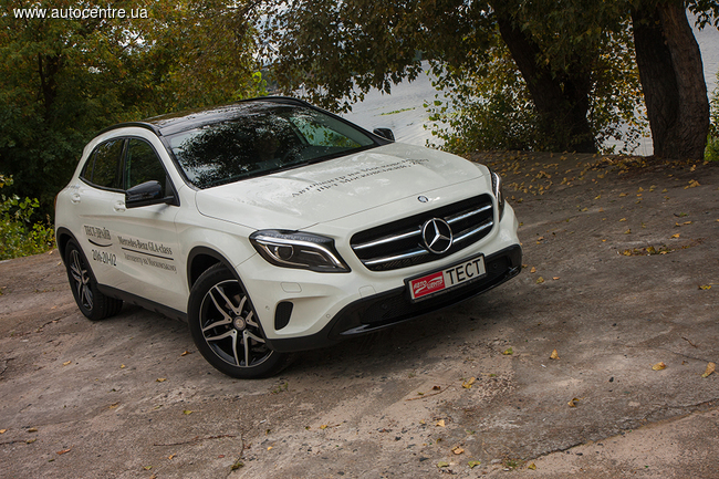 Тест-драйв Mercedes-Benz GLA 220 CDI 4MATIC