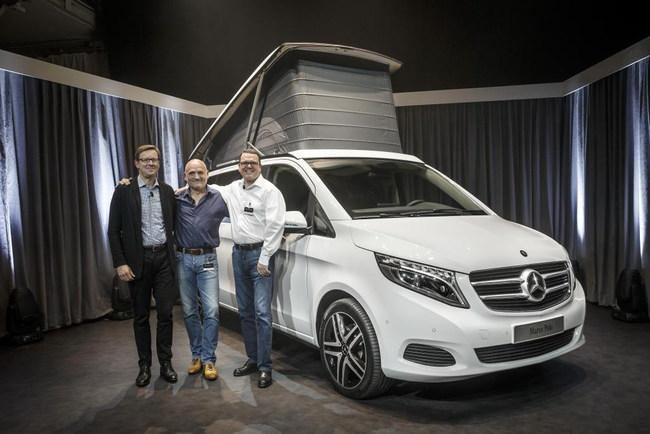 Автокемпер Mercedes-Benz Marco Polo