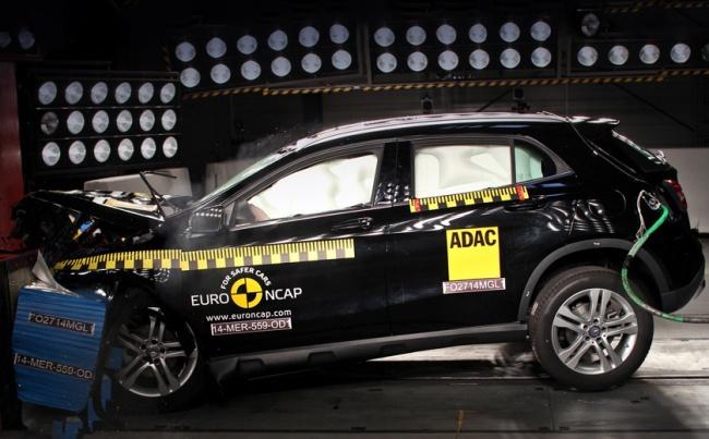 Новая серия краш-тестов Euro NCAP: только один ударился на «пятерку»
