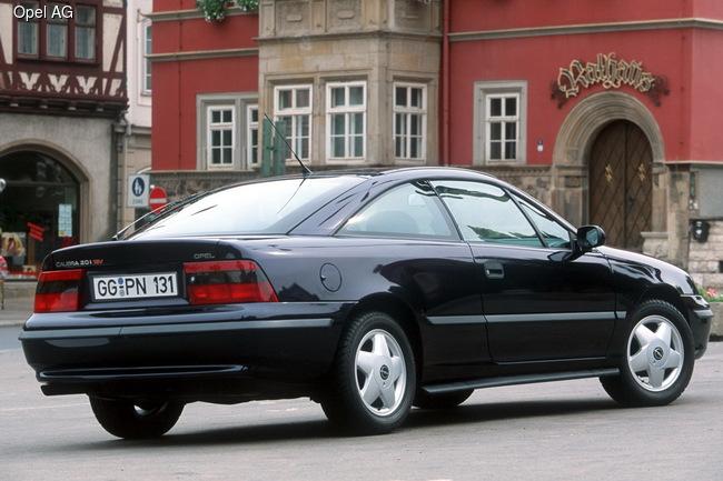Компания Opel отмечает 25-летие купе Calibra