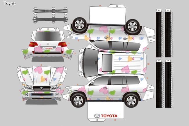 Собери коллекцию Toyota