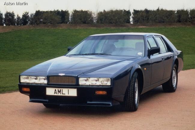 Aston Martin Lagonda выпускался с 1974 по 1990 год