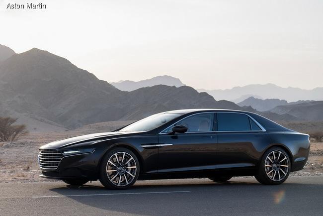 Aston Martin тестирует новое поколение седана Lagonda