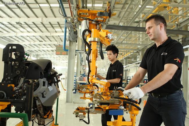 В Китае стартовал выпуск электромобилей Denza