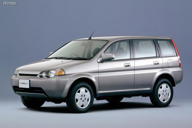 Honda HR-V первого поколения выпускался с 1998 по 2006 год