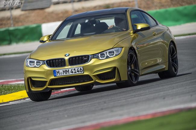 Компания BMW проводит тесты «заряженного» купе M4 GTS
