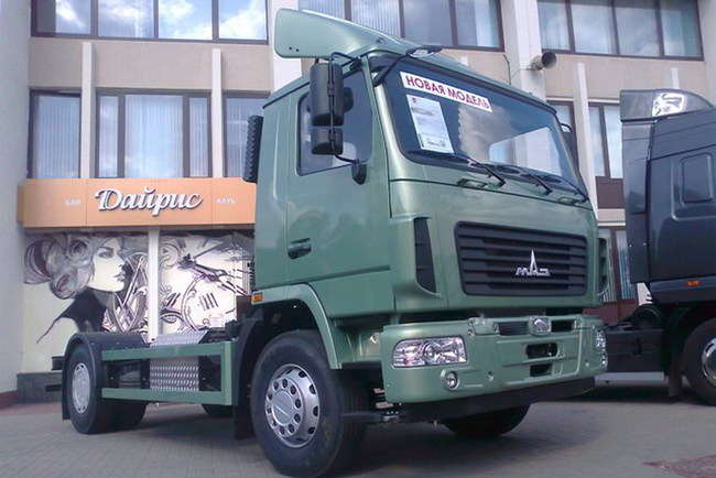Грузовик МАЗ Евро 6