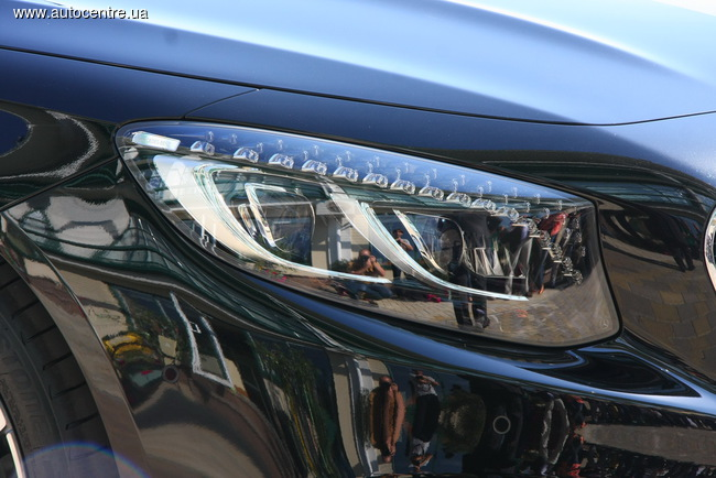 Mercedes-Benz представил новую модель S-Class Coupe в Украине