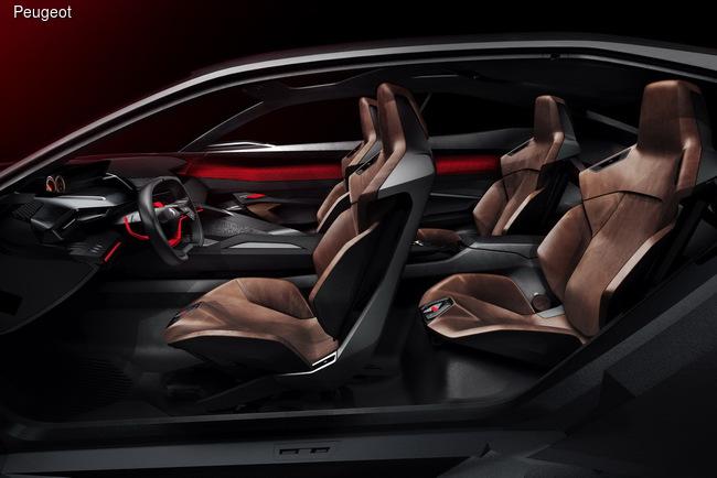 Peugeot привезет в Париж концептуальный кроссовер Quartz