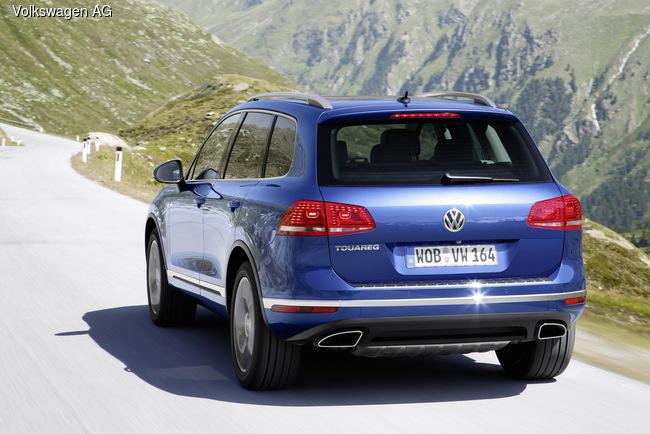 Внедорожник Volkswagen Touareg обновили