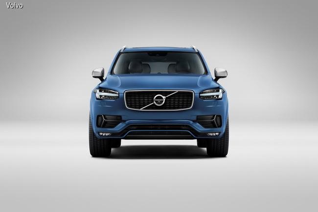 Volvo XC90 нового поколения обзавелся стайлинг-пакетом R-Design