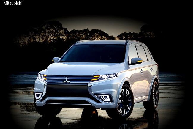 На стенде Mitsubishi в Париже состоится мировой дебют Outlander PHEV Concept-S