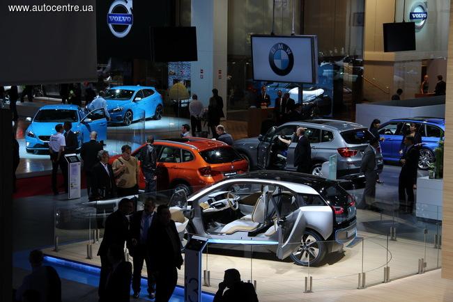 Парижский автосалон 2014 начинает свою работу