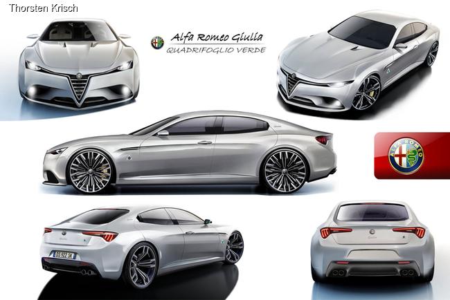 В компании Alfa Romeo ведут работы над созданием седана Giulia нового поколения