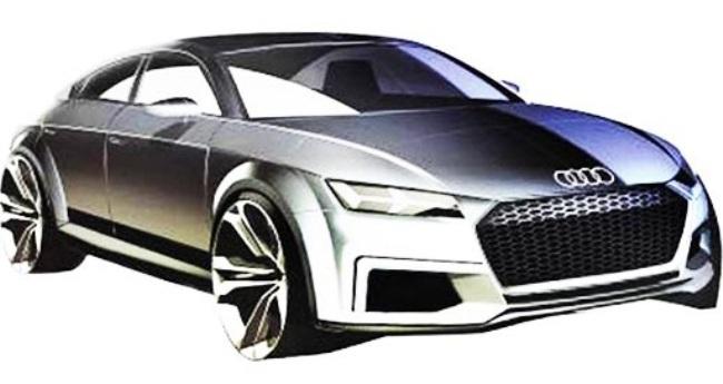 Парижский автосалон 2014: появились первые изображения пятидверного Audi TT Sportback