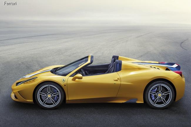 Парижский автосалон 2014: Ferrari порадует открытой спецверсией 458 Speciale A
