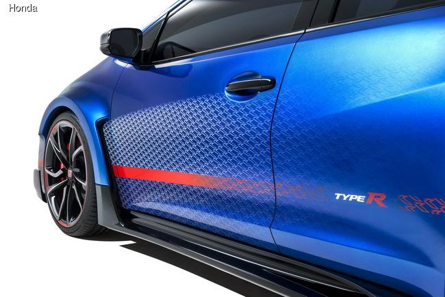 Парижский автосалон 2014: Honda привезет самый экстремальный Civic Type R