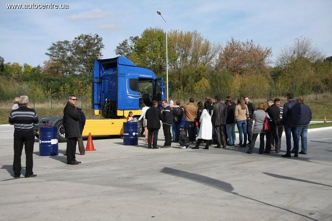 Презентация компании «Скания Украина»