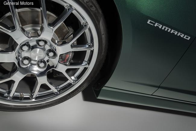 На автошоу в Лас-Вегасе Chevrolet презентует эксклюзивную версию Camaro SS