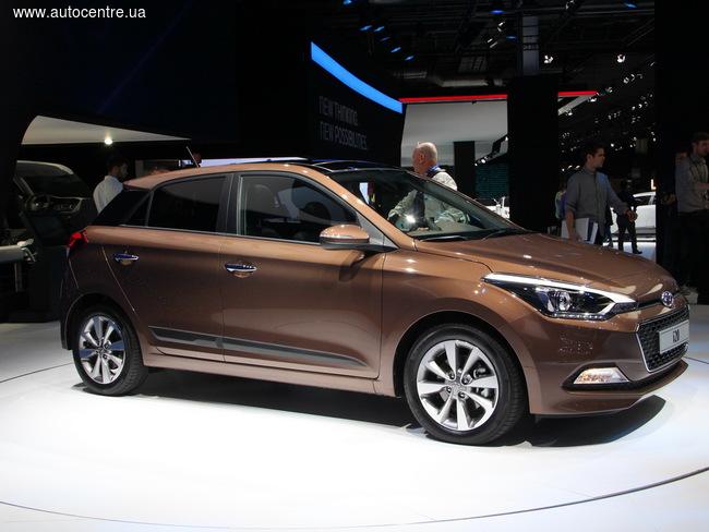 Парижский автосалон 2014: главной новинкой Hyundai стал хэтчбек i20