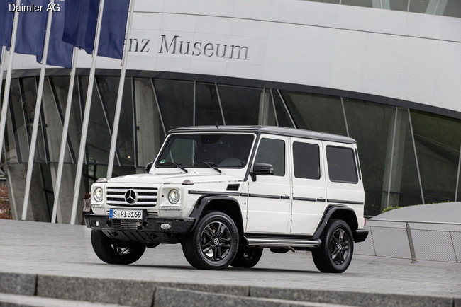 Концерн Daimler отмечает 35-летие модели Mercedes-Benz G-Class